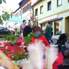 Am Parking-Day in Böblingen genießen Passanten und Aktivisten die grüne Oase